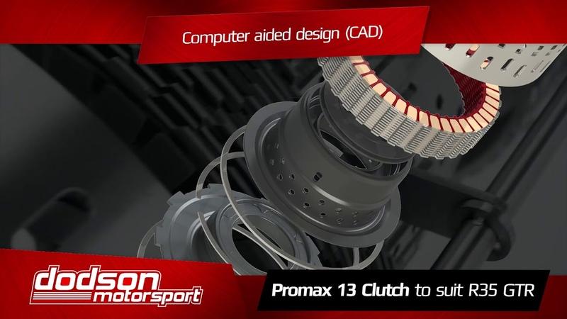 Dodson Motorsport - Nissan R35 GTR Clutch Promax 13 Clutch Upgrade
