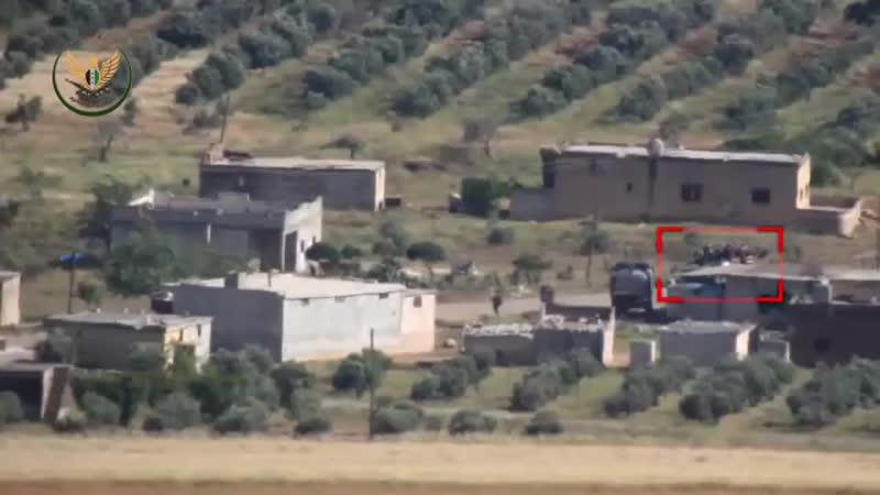 Боевики ССА заптурили МТЛБ САА