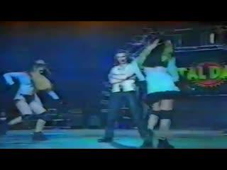 Brooklyn Bounce - Slave 2 Da Rhythm & The Real Bass (Live Concert 90s Exclusive Techno-Eurodance Total Dance 1997)