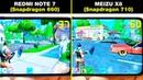 REDMI NOTE 7 (Snapdragon 660) vs MEIZU X8 (Snapdragon 710) БОЛЬШОЕ СРАВНЕНИЕ В ИГРАХ! FPS НАГРЕВ