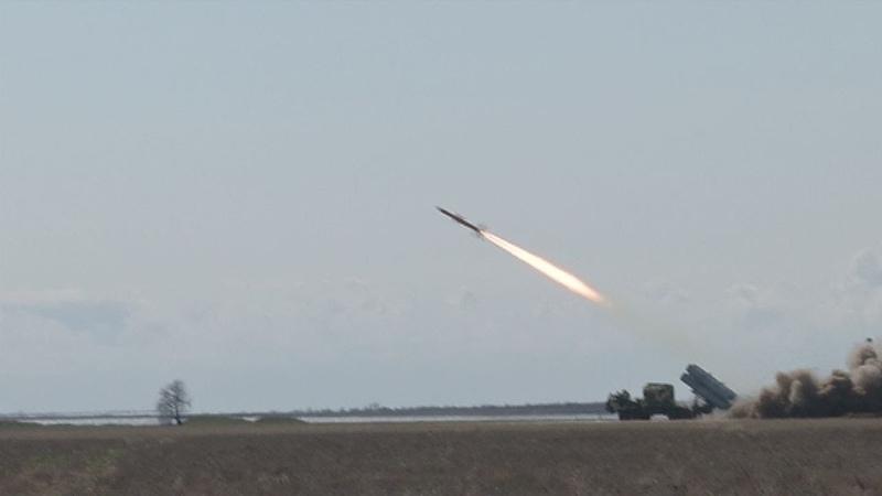 Випробування нового мобільного комплексу крилатих ракет