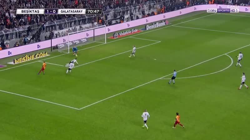 Beşiktaş Galatasaray 1 0 2018 19 2 YARI