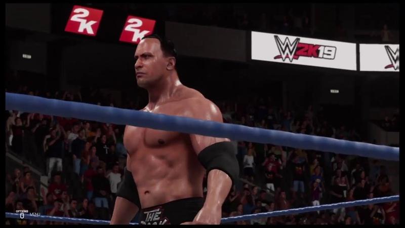 WWE 2K19 The Rock vs D Generation X Smackdown '00 Handicap Match