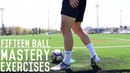 15 Tight Space Ball Mastery Exercises | Improve Your Ball Control In Tight Spaces