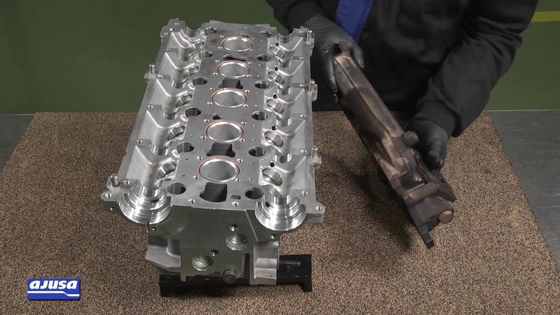 VOLVO 850 TURBO 20V (B5234T) Exhaust manifold gasket assembly – Montaje colector de escape Ajusa