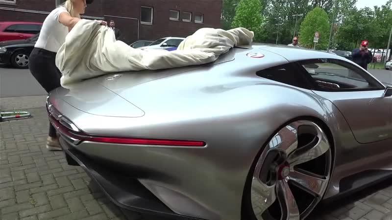 САМАЯ КРАСИВАЯ МАШИНА В МИРЕ. Mercedes Vision GT!.mp4