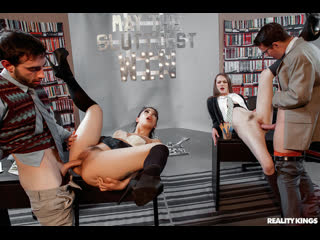 Gina valentina, karlie montana, samantha hayes may the sluttiest win | foursome group sex brazzers porn порно