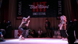 Hit The Floor Battle vol.5 hip-hop beginners 18 Sancho(win) vs Simona