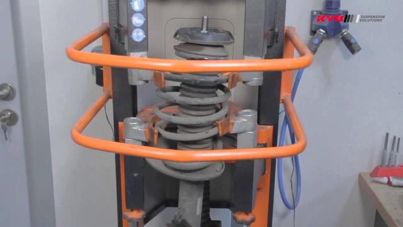 PEUGEOT 5008 - Front - Передние амортизаторы KYB установка