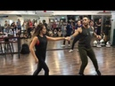 William Teixeira and Paloma Alves Brazilian Zouk Demo Singapore
