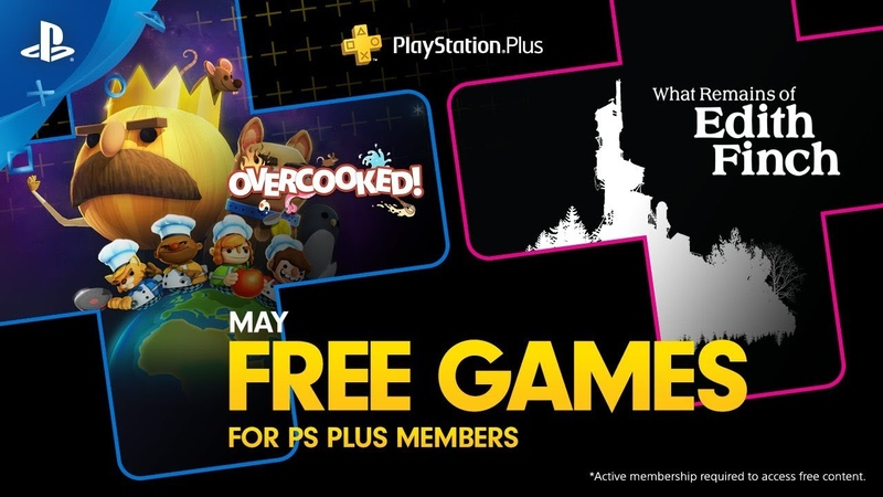 PlayStation Plus - Free Games Lineup May 2019 | PS4