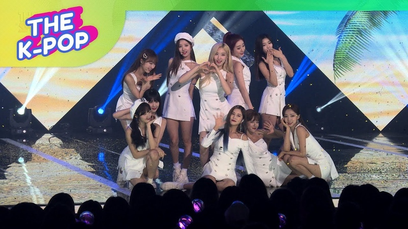 WJSN, Boogie up [THE SHOW, Fancam, 190618] 60P