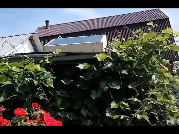 Солнечный коллектор и горячая вода своими руками из подручных материалов. Вывод данных в интернет.