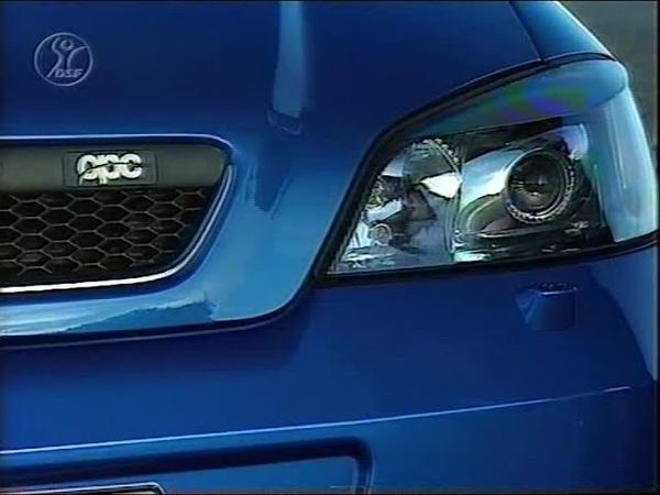 Test Opel Astra G OPC mit Manuel Reuter
