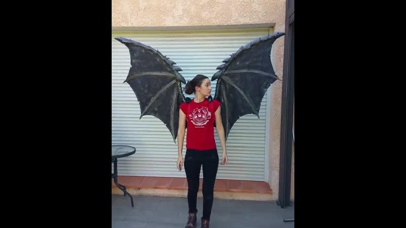 Mirajane Demon wings    Fairy Tail