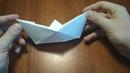 Как сделать бумажный кораблик. Оригами - лодочка.