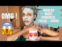 I NEVER EXPECTED THIS! Aztec healing clay mask on 4c natural hair and face demo review