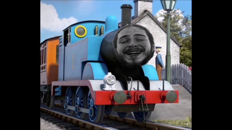 Thomas The Tank Engine Post Malone (Mashup)