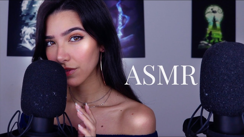 ASMR Sensitive Mouth Sounds ( soft mic scratching, finger flutters...)