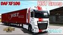 ETS2 1.34 COMBO SKIN Pack DAF XF106 HST Groep Euro Truck Simulator 2
