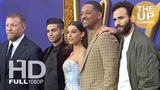 Aladdin premiere arrivals &amp photocall Will Smith, Naomi Scott, Mena Massoud, Guy Ritchie in London