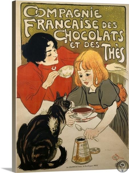 Теофиль-Александр Стейнлен и его кошки. Теофиль-Александр Стейнлен (1859 1923) французский художник и график, наибольшую известность которому принесли плакаты в стиле «модерн». Стейнлен не
