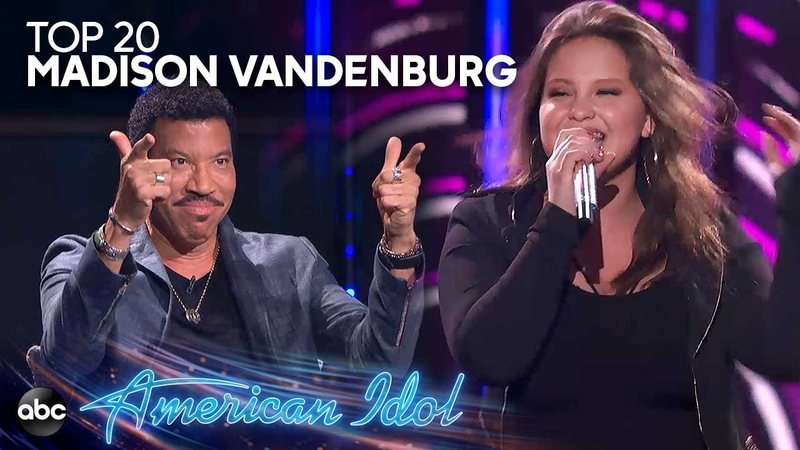 Madison VanDenburg Sings Domino by Jessie J for Top 20 Solos American Idol 2019 on ABC