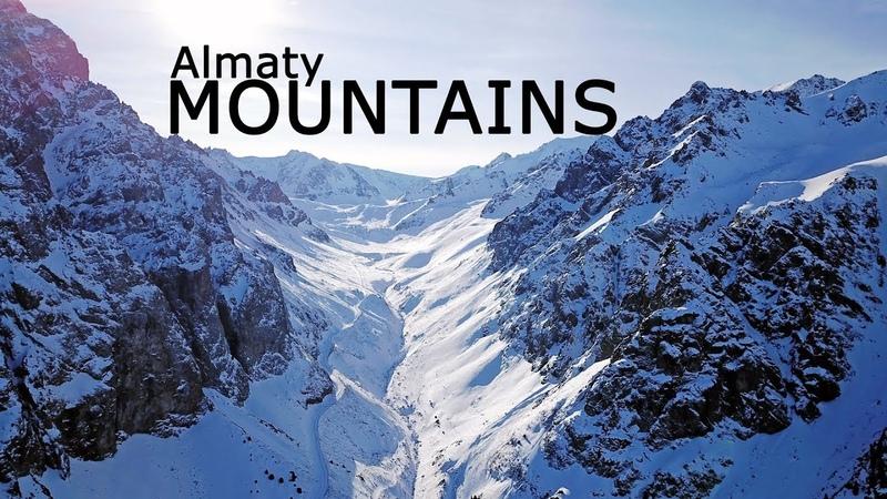 4К Горы Алматы. Съемка с дрона. Мынжылки. Almaty mountains. Shooting with the drone. Dam Mynzhylki.