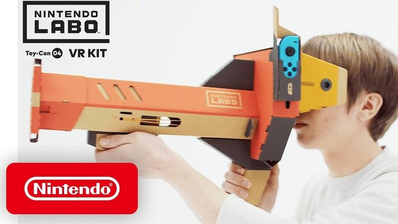 Nintendo Labo VR Kit   Accolades Trailer   Nintendo Switch