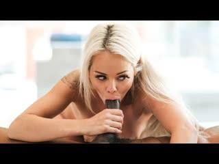 Elsa jean - house warming (hardcore, cumshot, blonde, petite, blowjob, small tits, bald pussy, black, interracial, monster cock)