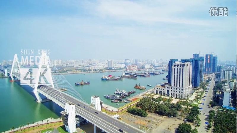 Haikou City, Hainan Province, China 海南世纪大桥附近(海南省 海口市)
