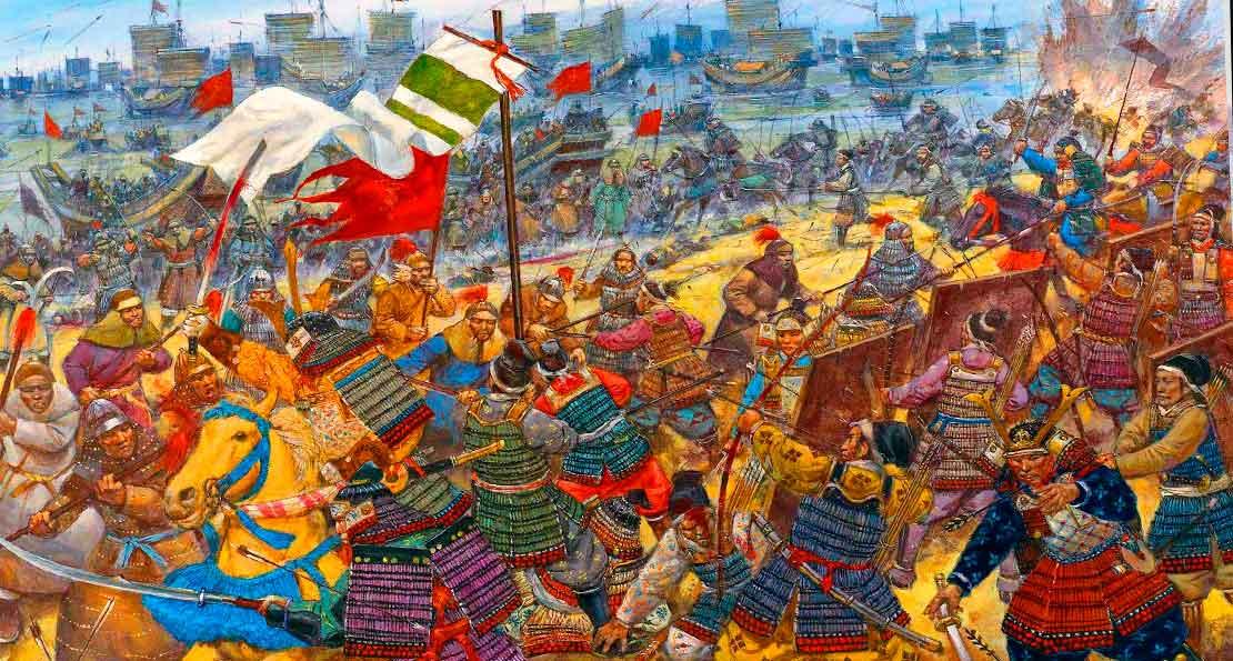 Самураи против монголов