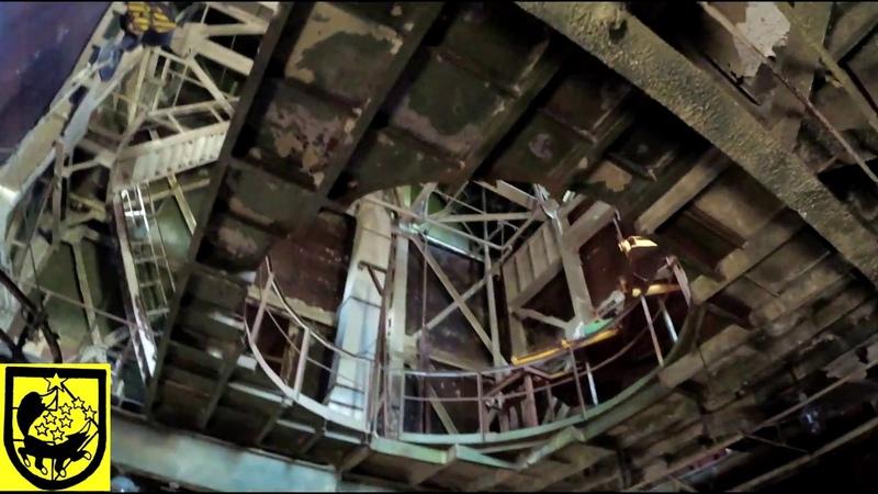 Стенд испытания двигателя межконтинентальной баллистической ракеты РСМ 54 SS N 23 Skiff Р 29РМ