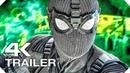 ЧЕЛОВЕК-ПАУК׃ ВДАЛИ ОТ ДОМА Русский Трейлер 2 4K ULTRA HD НОВЫЙ 2019 SuperHero Movie HD