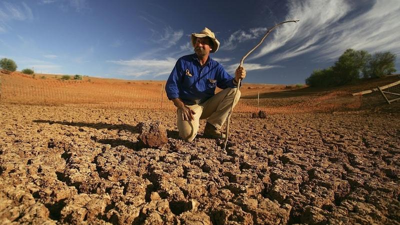 Австралийские фермеры Засуха съедает наши земли как рак