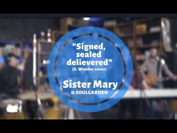 Signed sealed delievered cover live