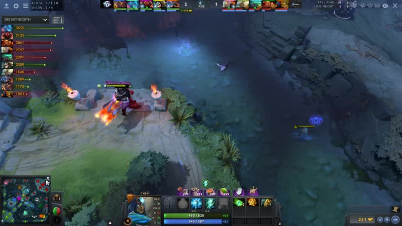 THE INTERNATIONAL 2019 CLOSED QUALIFIERS Forward Gaming vs bo5 game 1 hm