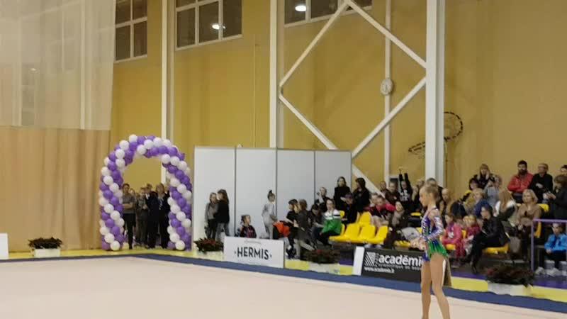 Яна Стрига - булавы. Dalia Kutkaite Cup 2017