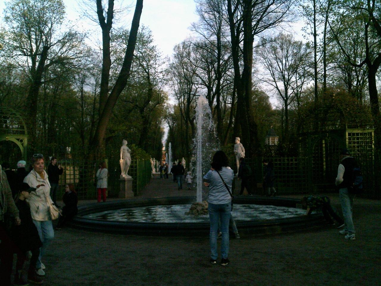 Летний Сад в мае. Петербург.