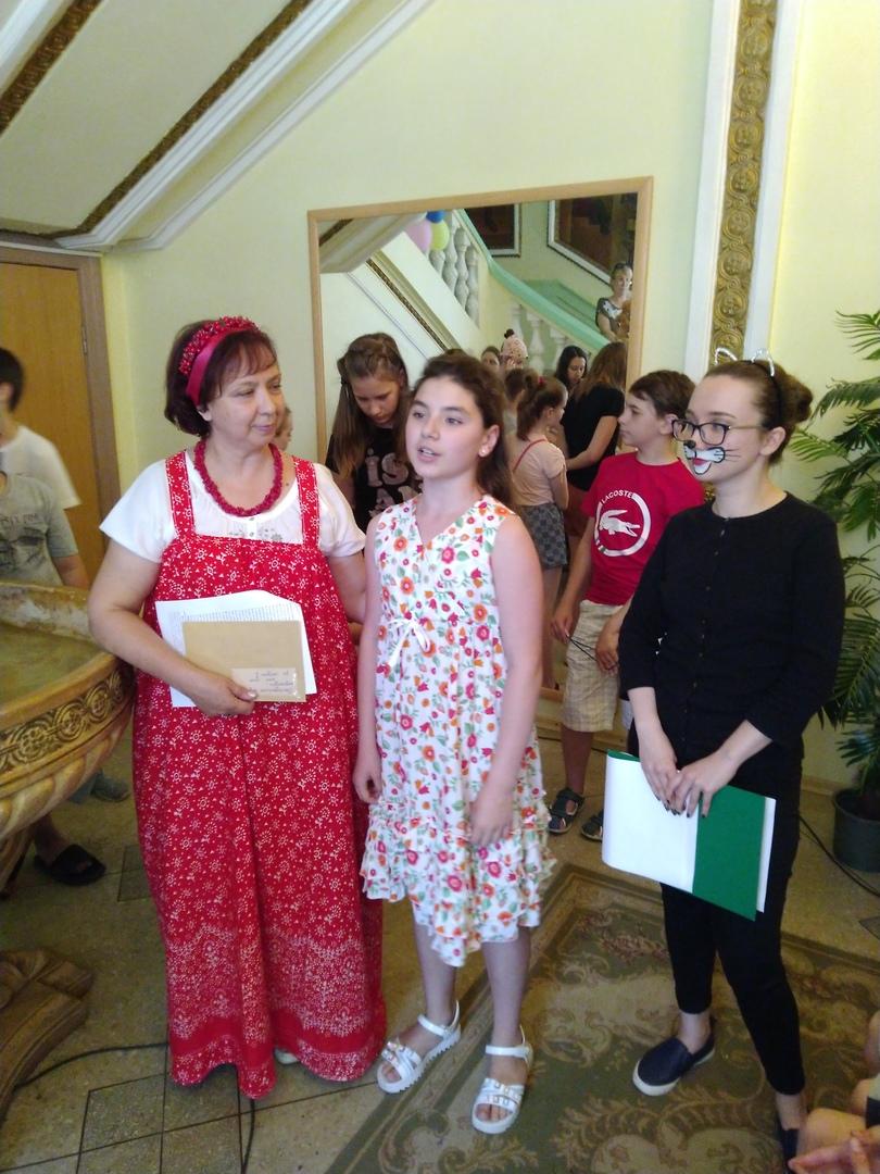 Донецкая республиканская библиотека для детей, юбилей автора, пушкин без границ, лукоморье, читай акция