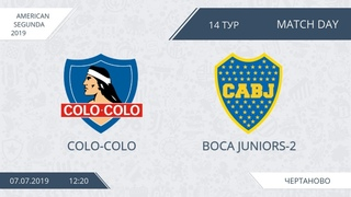 AFL19. America. Segunda. Day 14. Colo-Colo - Boca Juniors-2.