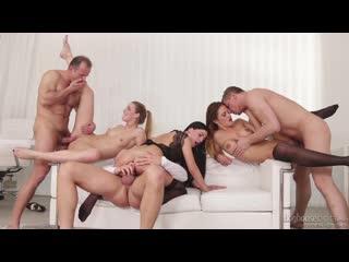 Alexis crystal, nicole vice, eveline dellai - swingers orgies #12, scene #03