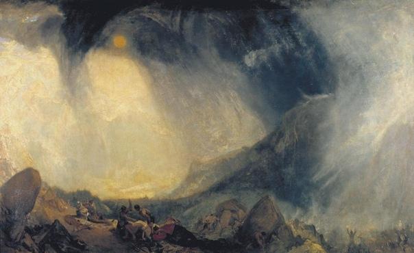 « одного шедевра». «Снежная буря. Переход Ганнибала через Альпы», Уильям Тёрнер