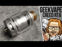 Geekvape Creed RTA. Пузико ему идёт.🎷🎻🎹🎸
