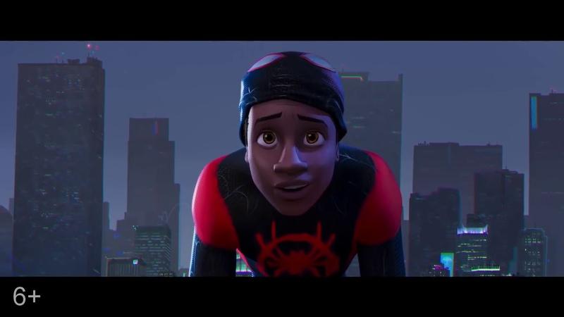 Человек паук Через вселенные Русский трейлер 2018