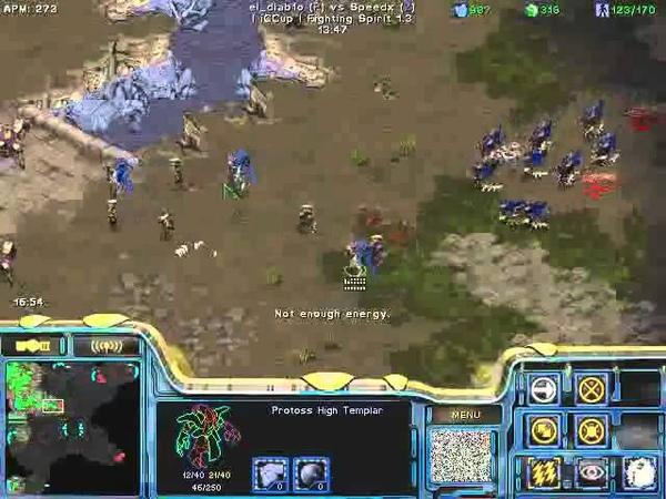 FPVOD REPS Tama vs Speedx PvZ Game 1 Starcraft Brood War 2015