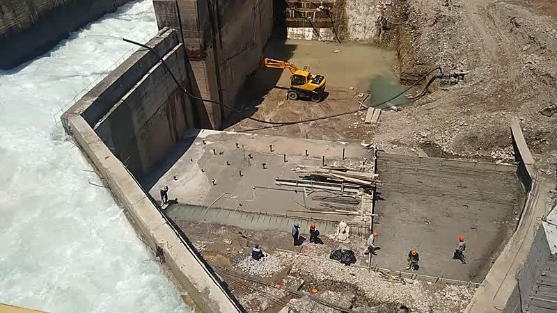 Реконструкция ГЭС. Нижний Комсомольск Чирчик