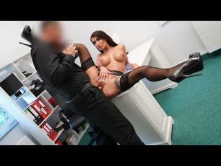 [fakeagent] princess jasmine sexy brit fucked over the office desk newporn2019