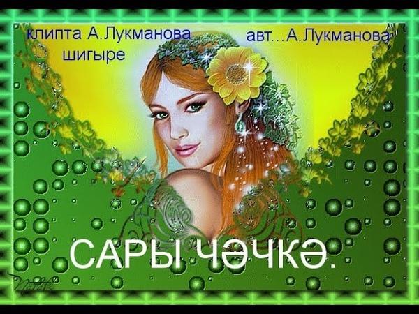 Сары чәчәк Анвар Нургалиев башкара җыр авторлары билгесез