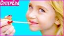Модельная прическа маникюр и макияж для девочки Как стать моделью 1 сезон 3 серия Супер Ева